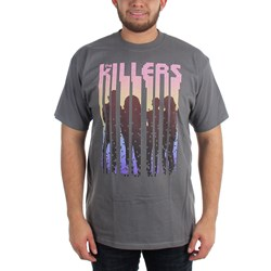 The Killers - Silhouettes Adult T-shirt in Charcoal Grey