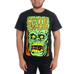 White Zombie - Mens Monster Yell T-Shirt in Black