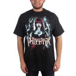 Bullet For My Valentine - Gun Woman Mens S/S T-Shirt In Black