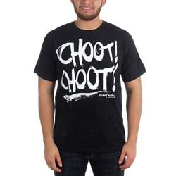 Swamp People - Mens Choot Choot! T-Shirt In Black