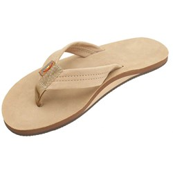 Rainbow - Mens Premier Leather Single Layer Arch Sandals