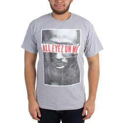 Tupac - Mens All Eyez Heather T-Shirt
