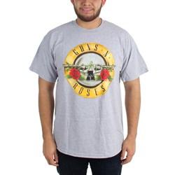Guns N Roses - Mens Bullet On Heather T-Shirt