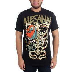 Alesana - Mens Skeleton Heart T-Shirt