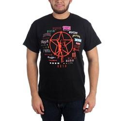 Rush - Mens Evolution Of Logo T-Shirt