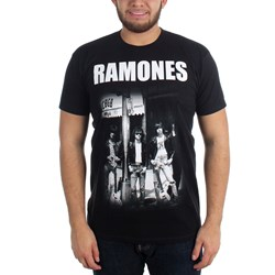 Ramones - Mens Cbgb Group Photo T-Shirt