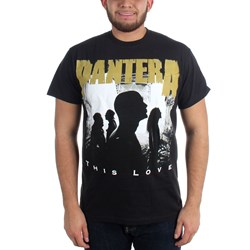 Pantera - This Love Mens T-Shirt In Black