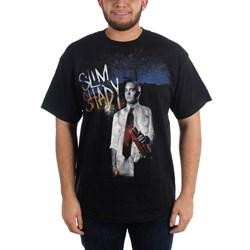 Eminem - Mens Sun T-shirt in Black