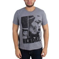 Jimi Hendrix - Mens Let Me Live T-Shirt