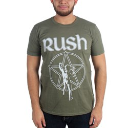 Rush - Mens Star Logo T-Shirt