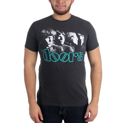 The Doors - Horizon 30/1 Enzyme Wash Mens S/S T-Shirt In Black