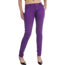 Tripp NYC Juniors / Womens Super Skinny T-Jeans / Pants in Purple