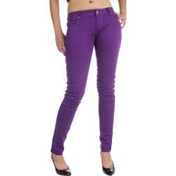 Tripp NYC Juniors / Womens Super Skinny T-Jeans / Pants in Purple
