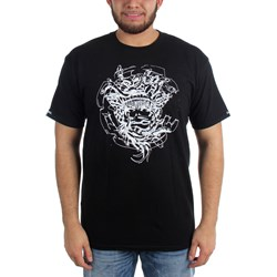 Crooks & Castles - Mens Roughed Out Medusa T-Shirt