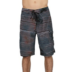 Bleeding S/S Mens Boardshorts in Chocolate by Insight Clothing