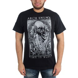 Arch Enemy - Mens Time is Black T-Shirt