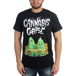 Cannabis Corpse - Mens Couch Dudes T-Shirt