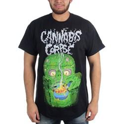 Cannabis Corpse - Mens Bowl of Fire T-Shirt