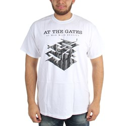 At The Gate - Mens Heroes Tombs Tour Date T-Shirt