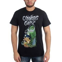 Cannabis Corpse - Mens Cop Bong Dead by Bong T-Shirt