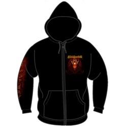 Blind Guardian - Red Dragon Mens Hoodie In Black