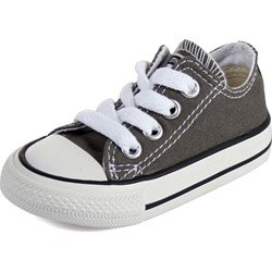 Converse Toddler/Youth Allstar Low Chuck Taylor Shoes in Charcoal