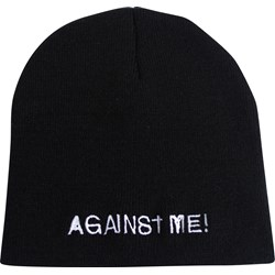 Against Me - Mens Embroidered Logo Beanie