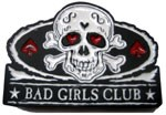 BAD GIRLS CLUB buckle in Pink (Pink, Black, and Silver Grey)