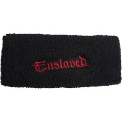 Enslaved - Mens Enslaved Red Logo Wristbands