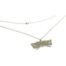 Escape The Fate - Glitter Necklace Mens Jewelry In Silver