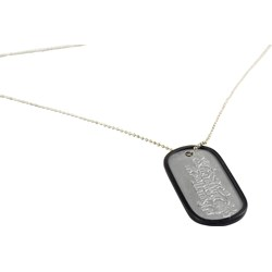 Bullet For My Valentine - Lyric Dogtag In Silver