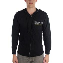 The Doors - Mens Venice Zip Hooded Sweater In Black