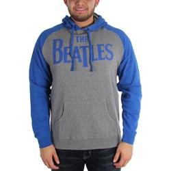 The Beatles - Mens Raglan Logo Hoodie