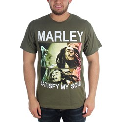 Bob Marley - Mens Satisfy My Soul T-Shirt