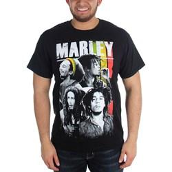 Bob Marley - Mens Bm Collage T-Shirt