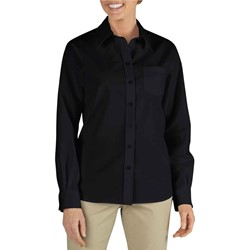 Dickies - FL136 Womens Long Sleeve Stretch Poplin Shirt