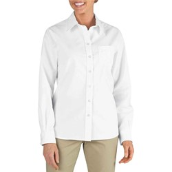 Dickies - FL136 Womens Long Sleeve Stretch Poplin Shirt
