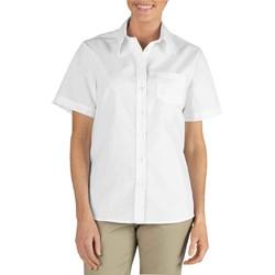 Dickies - FS136 Womens Short Sleeve Stretch Poplin Shirt