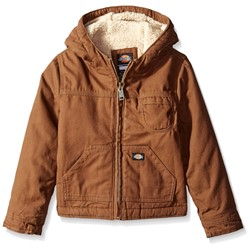 Dickies - Boys Sherpa Lined Duck Jacket
