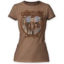 Aerosmith - Womens Dream On Ringer T-Shirt