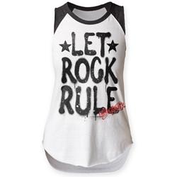 Aerosmith - Womens Let Rock Rule Sleeveless Raglan
