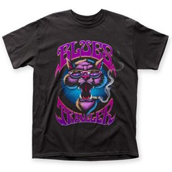 Blues Traveler - Mens Smokin' Cat T-Shirt
