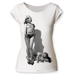 Debbie Harry - Womens Vulture Cut T-Shirt