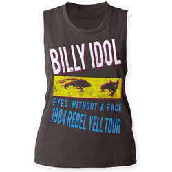 Billy Idol - Womens Rebel Yell Tour '84 Muscle Tank