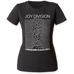 Joy Division - Womens Unknown Pleasures T-Shirt