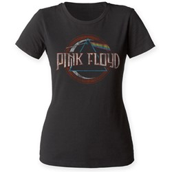 Pink Floyd - Womens The Dark Side of the Moon Seal T-Shirt