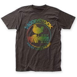 Woodstock - Mens Colorful Logo Fitted T-Shirt