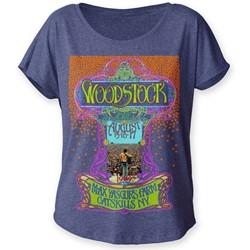 Woodstock - Womens Max Yasgur's Farm Dolman T-Shirt