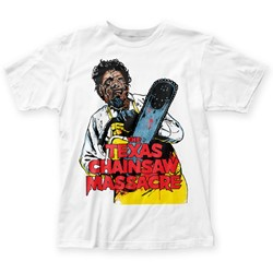 Texas Chainsaw Massacre - Mens Illustration Fitted T-Shirt