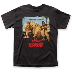 Texas Chainsaw Massacre - Mens Meat the Sawyers T-Shirt